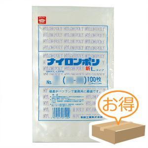 巾130×長さ200mm福助工業 ナイロンポリ 新Lタイプ規格袋 No.3B (4000枚)