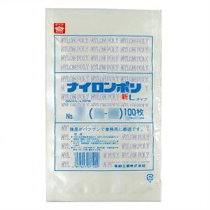 巾130×長さ200mm福助工業 ナイロンポリ 新Lタイプ規格袋 No.3B (200枚)