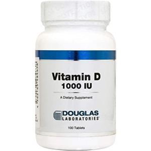 ビタミンD 1000 活性型ビタミンD ダグラスラボラトリーズ ビタミンD(100粒)カルシウムの吸...