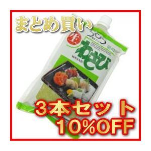 カネク/505生わさび 750g (No.505 )【3本セット】