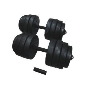 TRADE WING ダンベル 20キロ×2個セット 合計40キロ ジョイントをつけて1本にすると40キロに!筋トレ ダイエット|tradewingjapan