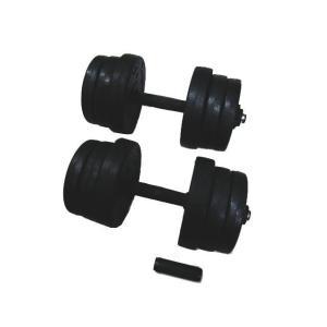 TRADE WING ダンベル 10キロ×2個セット 合計20キロ ジョイントをつけて1本にすると20キロに!筋トレ ダイエット|tradewingjapan