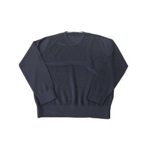 「ご用意サイズ」M(46)  ★知的で上品なG-STAGEのVネック ニットセーター  ★素材はウー...