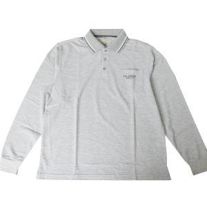 (ギラロッシュ)Guy Larocheの長袖ポロシャツ G14 モクグレー LLサイズ|tradhousefukiya
