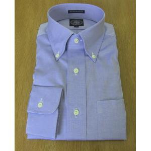 J.PRESS(Jプレス)ボタンダウンシャツ  ピンオックス  ブルー|tradhousefukiya