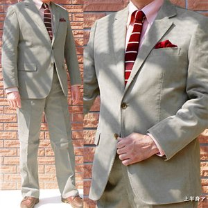 秋冬 段返り3つボタン スーツ コーデュロイ  ミディアムグレー OXFORD CLASSIC 0015|tradhousefukiya