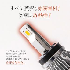HID屋 LED フォグランプ H8 H9 H11 H16 HB4 爆光 10110lm イエロー 3000k ホワイト 6500k 車検対応 フォグ 日本製 LEDチップ搭載 tradingtrade 12
