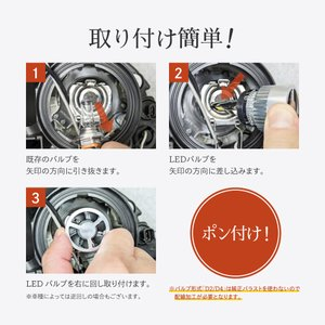 HID屋 LEDヘッドライト H7 H8 H9 H11 H16 H10 HB3 HB4 HIR2 爆光 10110lm 6500k 車検対応 ホワイト フォグランプ使用可能 日本製 LEDチップ搭載 tradingtrade 13
