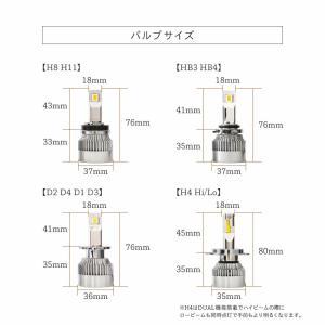HID屋 LEDヘッドライト H7 H8 H9 H11 H16 H10 HB3 HB4 HIR2 爆光 10110lm 6500k 車検対応 ホワイト フォグランプ使用可能 日本製 LEDチップ搭載 tradingtrade 18