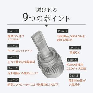 HID屋 LEDヘッドライト H7 H8 H9 H11 H16 H10 HB3 HB4 HIR2 爆光 10110lm 6500k 車検対応 ホワイト フォグランプ使用可能 日本製 LEDチップ搭載 tradingtrade 02