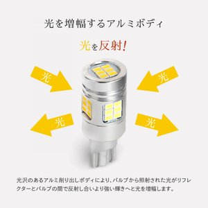 HID屋 T16 T20 S25 LED バックランプ 爆光 4000lm Philips LEDチップ 6500k ホワイト tradingtrade 08