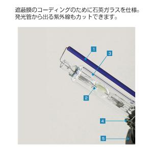 29%OFF HID バルブ 水銀フリー HIDバルブ/35W D4R/D4S専用設計 純正バラストの能力最大限に出ます/HID/バルブ/D4R/D4S/金属固定台座(光軸のブレを防止)HID/D4|tradingtrade|05