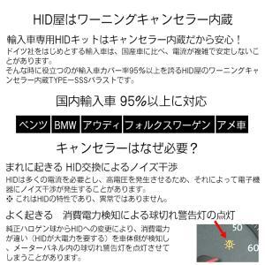 55W 輸入車用HIDコンバージョンキット ワーニングキャンセラー内蔵 H4Hi/Lo(リレー付/リレーレス) H1 H3 H3C H7 H8 H10 H11 HB3 HB4 H16|tradingtrade|05