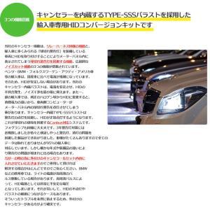 55W 輸入車用HIDコンバージョンキット ワーニングキャンセラー内蔵 H4Hi/Lo ショートタイプ(リレーハーネス付・ワーニングキャンセラー付) tradingtrade 05