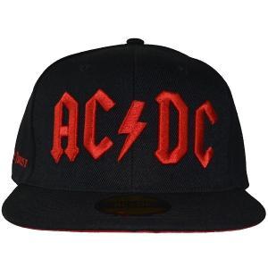 AC/DC Logo スナップバックキャップ|tradmode