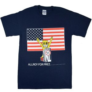 ALL Allroy For Prez Tシャツ|tradmode
