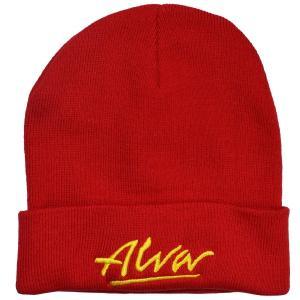 ALVA OG Logo ニット帽 RED|tradmode