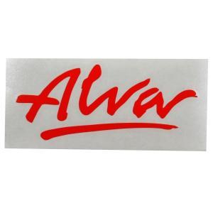 ALVA '77 OG Logo デカール ステッカー RED|tradmode
