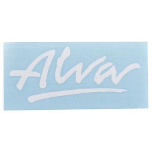 ALVA '77 OG Logo デカール ステッカー WHITE|tradmode
