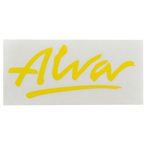 ALVA '77 OG Logo デカール ステッカー YELLOW|tradmode