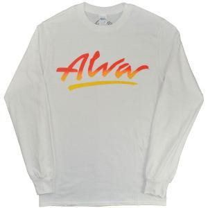 ALVA OG Logo ロングスリーブ Tシャツ WHITE|tradmode