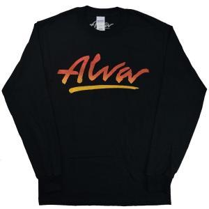 ALVA OG Logo ロングスリーブ Tシャツ BLACK|tradmode