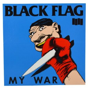 BLACK FLAG My War ステッカー|tradmode
