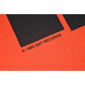 BLACK FLAG Bars & Logo Tシャツ ORANGE|tradmode|04