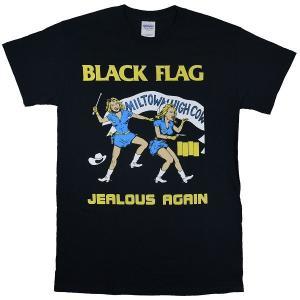 BLACK FLAG Jealous Again Tシャツ BLACK|tradmode
