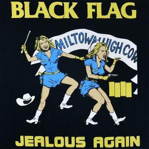 BLACK FLAG Jealous Again Tシャツ BLACK|tradmode|02