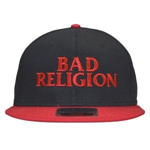 BAD RELIGION Logo ベースボールキャップ|tradmode