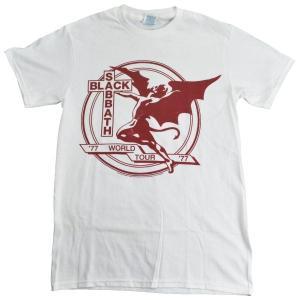 B品 BLACK SABBATH WORLD TOUR 77 Tシャツ|tradmode