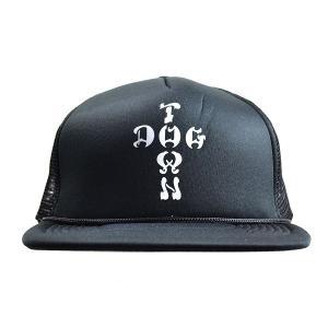 DOGTOWN Cross Logo メッシュキャップ BLACK|tradmode