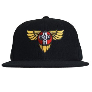 DOGTOWN Wings Logo SNAPBACK キャップ BLACK|tradmode