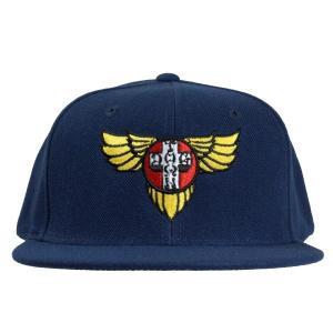 DOGTOWN Wings Logo SNAPBACK キャップ NAVY|tradmode