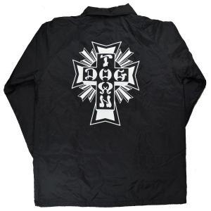 DOGTOWN Cross Logo Windbreaker コーチジャケット BLACK|tradmode