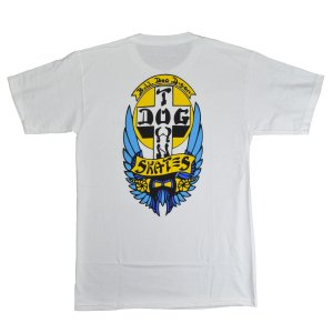 DOGTOWN Bulldog 1976 Colorway Tシャツ WHITE|tradmode