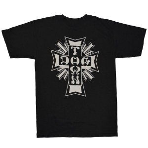 DOGTOWN Cross Logo Tシャツ BLACK|tradmode