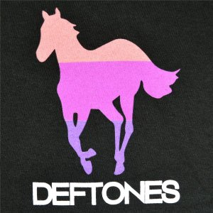DEFTONES Pocket Pink Stripe Pony Tシャツ|tradmode|02