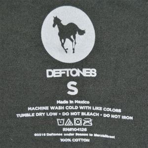 DEFTONES Pocket Pink Stripe Pony Tシャツ|tradmode|03