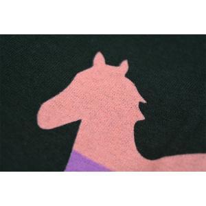 DEFTONES Pocket Pink Stripe Pony Tシャツ|tradmode|04