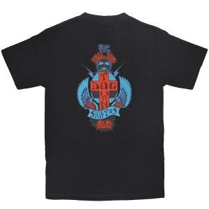 DOGTOWN PC Tail Tap Tシャツ BLACK|tradmode