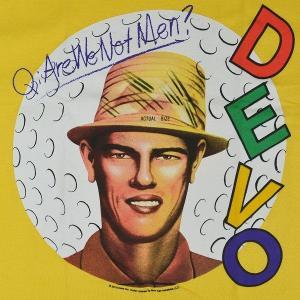 B品 DEVO Q:Are We Not Men? Tシャツ |tradmode|02