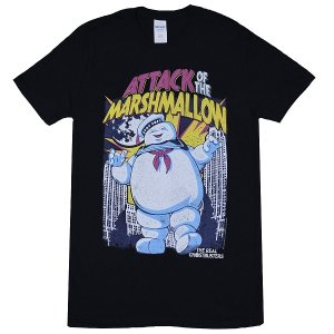 GHOSTBUSTERS Marshmallow Attacks Tシャツ