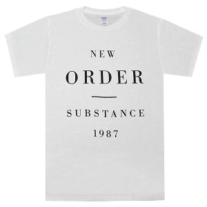 NEW ORDER Substance 1987 Tシャツ|tradmode