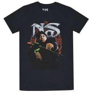 NAS Red Rose Tシャツ
