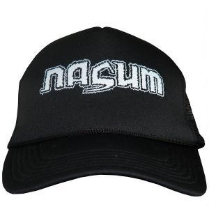 NAZUM Logo メッシュキャップ|tradmode