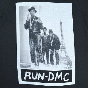 RUN DMC Paris Photo Tシャツ|tradmode|02