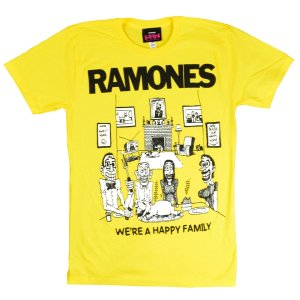 B品 RAMONES Happy Family Tシャツ|tradmode