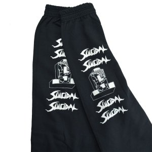 SUICIDAL TENDENCIES ST Logo スウェット パンツ|tradmode|05